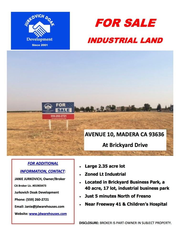 Madera Lot Ave 10 Brickyard Dr For Sale pdf 1